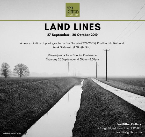 Hart LAND LINES Exhibition Invitation